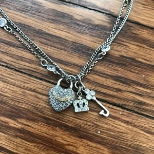 Juicy Couture Key to my Heart Necklace